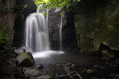 Lumsdale Waterfall Stock Image