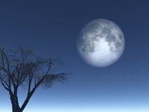 Luna royalty free illustration