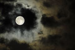 Luna Imágenes de archivo libres de regalías