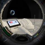 Luna 40 anni più successivamente immagini stock