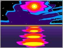 Luna illustrazione vettoriale