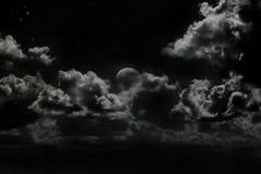 Luna aumentante Immagini Stock