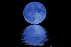 Luna azul fotos de archivo libres de regalías