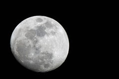 Luna blanca Fotografía de archivo libre de regalías
