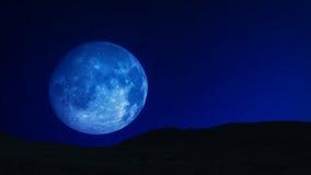 Luna blu 01 Fotografia Stock Libera da Diritti
