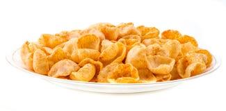 Luna Chips Food Fotografia Stock Libera da Diritti