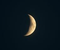 Luna creciente Fotografía de archivo libre de regalías