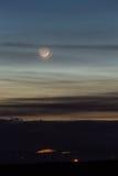 Luna creciente Fotos de archivo libres de regalías