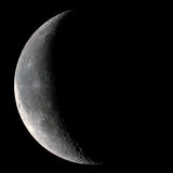 Luna crescent Imagen de archivo