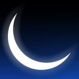 Luna crescente Immagine Stock Libera da Diritti