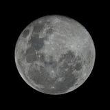 Luna de cosecha Foto de archivo