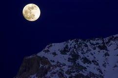 Luna de la cumbre imagen de archivo