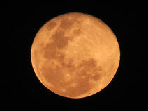 Luna de la sangre foto de archivo libre de regalías