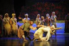 Luna de lucha-Hui del ballet sobre Helan Foto de archivo libre de regalías