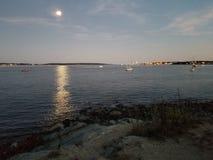 luna de Maine fotos de archivo libres de regalías