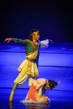 Luna del ballet del grito-Hui sobre Helan Imagen de archivo