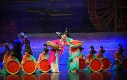 Luna del ballet del susurro-Hui sobre Helan Imagen de archivo