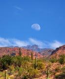 Luna del desierto del Sonora Imagenes de archivo
