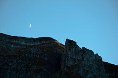 Luna del guarda imagen de archivo