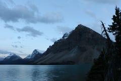 Luna del lago bow Imagen de archivo libre de regalías