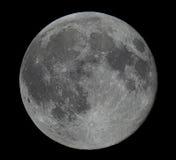 Luna di alta risoluzione della luna piena Immagini Stock Libere da Diritti