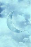Luna di fantasia Fotografia Stock