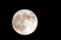 Luna di raccolta fotografia stock