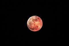 Luna eccellente, colpo dalla Tailandia Fotografie Stock Libere da Diritti
