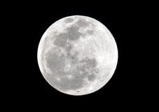 Luna, eclipse lunar del total visto de Utila, Honduras Imagen de archivo libre de regalías