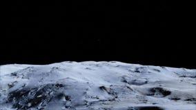 Luna en el espacio exterior, superficie De alta calidad, resolución, 4k Elementos de esta imagen proporcionados por la NASA foto de archivo
