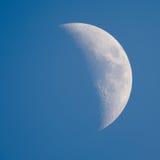 Luna - encerar el creciente fotografía de archivo libre de regalías