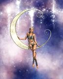 Luna fae Stock Photography