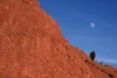 Luna in giardino dei dei Fotografie Stock