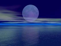 Luna grande Imagen de archivo libre de regalías