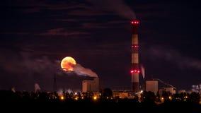 Luna industriale Fotografia Stock