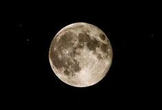 Luna Llena Fotografía de archivo libre de regalías