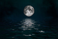 Luna mística Imagen de archivo