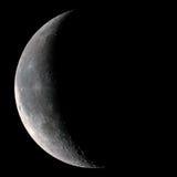 Luna a mezzaluna immagine stock