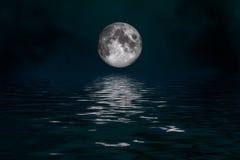 Luna mistica Immagine Stock