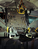 Inside the Lunar Module Stock Image