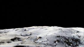Luna nello spazio cosmico, superficie Alta qualità, risoluzione, 4k Elementi di questa immagine ammobiliati dalla NASA fotografia stock