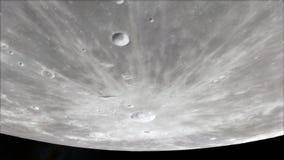 Luna nello spazio cosmico, superficie Alta qualità, risoluzione, 4k Elementi di questa immagine forniti dalla NASA illustrazione di stock