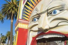 Luna Park à Melbourne images libres de droits