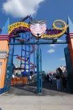 Luna Park в острове кролика стоковое изображение