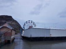 Luna Park от гавани Scarborough Стоковое фото RF