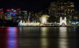Luna Park Сидней стоковые фото