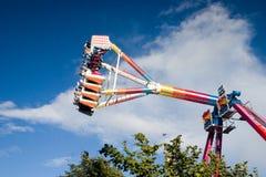 Luna Park. Scottish, A Typical Luna Park Stock Photo