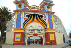 Luna park Royalty-vrije Stock Afbeeldingen