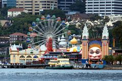 Luna Park Photographie stock
