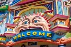 Luna Park, Мельбурн Стоковое фото RF